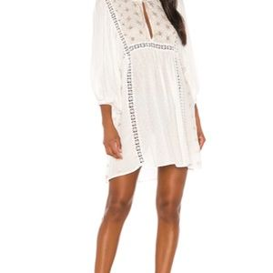 Free People Charlotte Tunic Top Ivory NWT